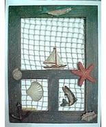 Fisherman decorative screen door NEW  - $7.50