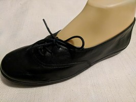Easy Spirit  Black Leather Comfort Laced Oxfords Shoes Size 7 - $40.29 CAD