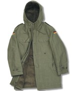 BRAND NEW GERMAN ARMY NATO PARKA WITH HOOD - OLIVE GREEN - $82.47