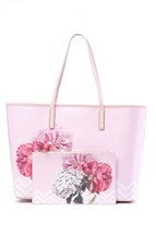 Ted Baker London Payten Palace Gardens Canvas Shopper and Wristlet - $125.00