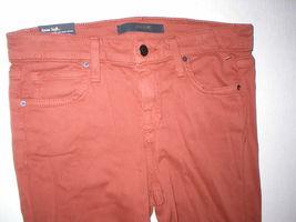 Womens New Designer NWT Joes Denim Jeans 28 Legging Brick Dust Dark Orange Soft image 3
