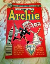 World Of Archie Archie Giants Series October 1984 Comic Book 543 - $2.75