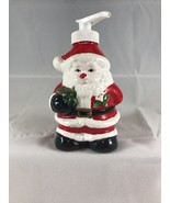 Santa Claus Shaped Liquid Hand Soap Dispenser Ceramic Pump - £8.52 GBP