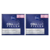 2 Nivea Hyaluron Cellular Filler Anti-Age Night Cream 50 ml - $84.00