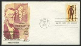 #1469 8c Osteopathic Medicine, Fleetwood-Addressed FDC **ANY 4=FREE SHIPPING** - $1.25