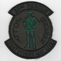 Usaf Air Force 33RS Others May Live Jolly Green Subdued Embroidered Jacket Patch - $18.99