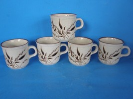 Lot Of 5 Nikko Freezer To Oven Microwave Oven & Dishwasher Safe COFFEE/TEA Mugs - $24.74