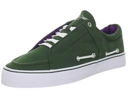 Creative Recreation Luchese Size US 12 M (D) EU 45 Men's Sneaker Emerald Purple