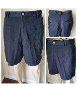 Tommy Bahama Men's Shorts Black Flat Front Casual Tencel Lyocell 32 - $36.26
