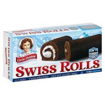 Little Debbie Swiss Rolls, 6 Boxes, 36 Twin Wrapped Cake Rolls, 13 oz Box - $24.78