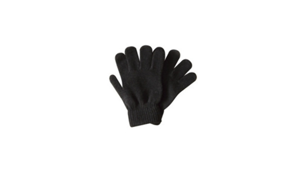 Case of [240] Kids' Fleece Magic Gloves - Black