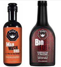Gibs Grooming Double Duty, Man Wash & Bio Fuel Duo image 2