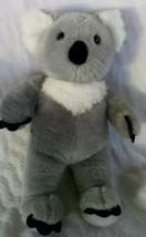 "Build A Bear Koala Bear Gray Stuffed Animal White Soft Plush Toy BABW 15"" - $8.89"