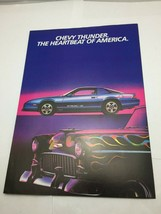 1985 Chevrolet Sales Brochure - $9.89