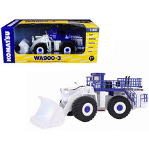 Komatsu WA900-3 Wheel Loader White Demo 1/50 Diecast Model by First Gear... - $213.18