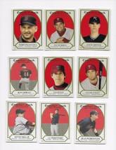 2005 TOPPS CRACKER JACK MINI RED 9 CARD LOT 13,32,54,61,77,78,92,156,230... - $2.48
