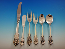 Grande Baroque by Wallace Sterling Silver Flatware Set 12 Dinner Size 78 pieces - $5,750.00
