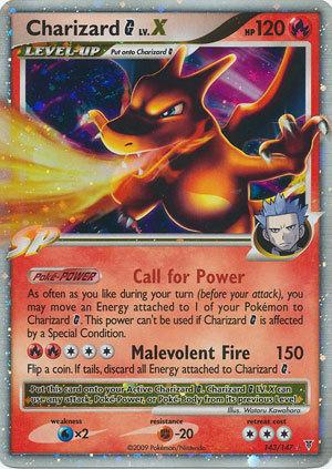 Charizard G LV X 143/147 Holo Rare Supreme Victors Pokemon Card