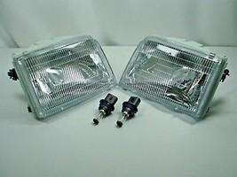 93-97 New Ford Ranger Pair Headlights Headlamps & Bulbs Driver & Passenger Set - $61.37