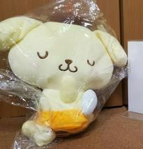 Pom Pom Purin Baby Angel Sleeping Doll Sanrio 22cm from JAPAN - $47.73