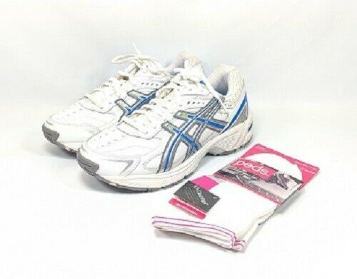 Asics Gel-170TR Running Shoes Women's Size 6.5 EE White Leather (sb16ep) EU 37.5