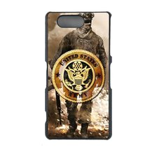U.S. Army Sony Z1 Compact, Z1 mini case Customized premium plastic phone case, d - $11.87