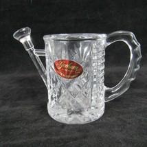 Crystal Watering Can Toothpick Holder with Original Label Gorham Vintage - $24.75