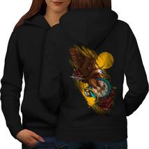 Bird Clock Rose Fantasy Sweatshirt Hoody  Women Hoodie Back - $21.99+