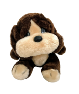 R.J. Sunshine Brown Dog Plush Vintage Stuffed Animal Toy Sad Eyes Puppy ... - $25.60
