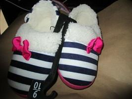 Toddler Girls Navy/Pink Slipper size 9-10 Brand New - $10.00