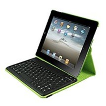 2Cool 2C-RTCK03-LM Duo-View Bluetooth Keyboard Case for Apple iPad - Lime - $32.47