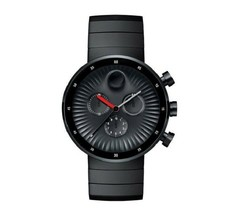 BRAND NEW MOVADO EDGE 3680011 BLACK CHRONOGRAPH MEN'S WATCH - $732.59