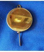 Adjustable Brass Pendulum Bob 4 oz  2  inch  round type  with  wire and nut - $6.99