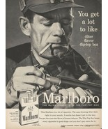 MARLBORO COUNTRY (1958) AD POSTER 24 X 36 Inches Looks GREAT! Cigarettes - $19.94