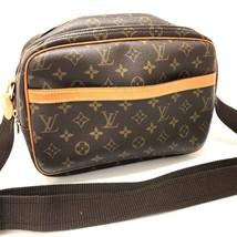 AUTHENTIC LOUIS VUITTON Monogram Reporter PM Shoulder Bag Brown M45254 - $515.00