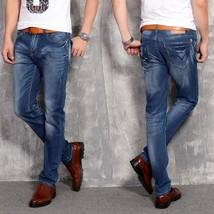 Mens Jeans 2018 Mens Fashion Brand Long Jeans Pants Designer Hot Sale St... - $48.76