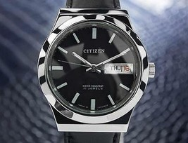 Citizen 21 Jewels Vintage Day Date Automatic Made In Japan Mens Watch c1... - $655.61
