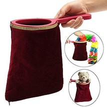 YGS Magic Bag Trick Magic Prop Magicians Stage With Handle Appear/Disappear - On