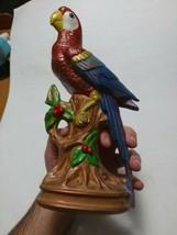 """Vintage Porcelain Bisque Parrot Onramental Colorful Pretty Bird 10.25"""" r... - $45.00"""