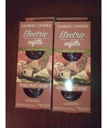 Pack Of 2 Yankee Candle Home Sweet Home Electric Oil Refills Scent Fragr... - $27.83