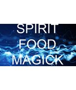 HAUNTED 100x SPIRIT FOOD REPLENISH RESTORE EMPOWER SPIRITS MAGICK 99 Witch  - $99.77