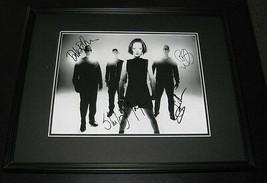 Garbage Group Signed Framed 11x14 Photo Display JSA - $224.39