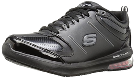 Skechers for Work Women's lingle Work Shoe, Black, 6 M US  - $89.06