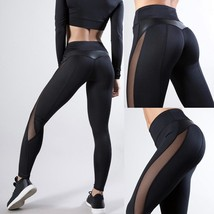 Women Black Push Up Fitness Legging For Yoga Workout Gym Running Sexy Le... - $15.12