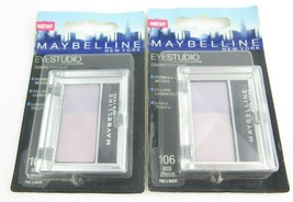 Maybelline EyeStudio Ombretto Duo Eyeshadow *Choose your Shade*Twin Pack* - $13.59+