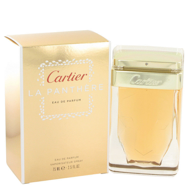 Cartier La Panthere by Cartier Women 2.5 oz Eau de Parfum Spray In Box Sealed