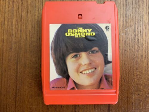 Primary image for Donny Osmond: The Donny Osmond Album 8 track tape Near Mint