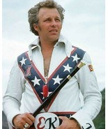 EVEL KNIEVEL 8X10 PHOTO PICTURE CLOSE UP - $3.95