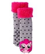 MY LITTLE PONY PINKIE PIE Plush Slipper Socks (US Girls Shoe Size 7.5 - ... - $11.70