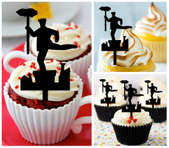 Ca426 Decorations cupcake toppers chimney sweep Package : 10 pcs - $10.00